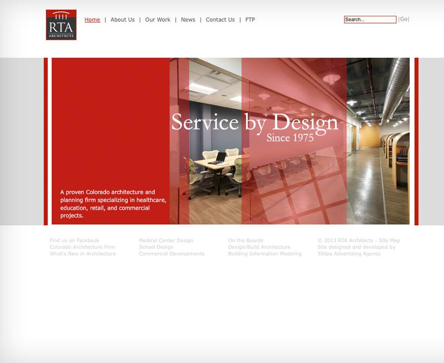 RTA Architects website